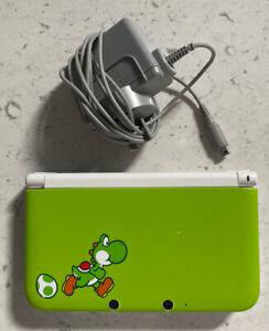Nintendo 3DS XL Yoshi Edition + 37 Installed games