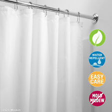 Mildew Resistant Shower Curtain Liner Bathroom Waterproof Cover 72 x 72 White