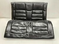 1994-1998 OEM Ford Mustang Convertible Black Leather Rear Seats Back  T129