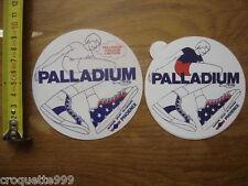 Autocollant Sticker PALLADIUM baskets de la marque de sport du groupe PHOENIX 2