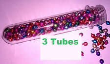 3 tubes caps 1.5 oz water proof Geocache Containers Storage Vault Crush Survival