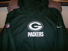 Green Bay Packers Nike Repel Lightweight Pullover Hoodie Jacket Men's Sz 2xl