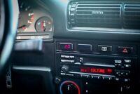 DIGITAL PRESSURE JAUGE BMW E30 E28 E24 OIL / WATER GAUGE