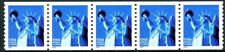 Statue of Liberty in Blue W/A $.34 Denominated MNH PNC5 PL 1111 Scott's 3476