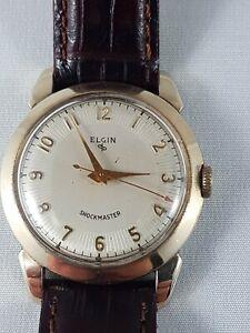 Vintage Elgin men's watch, working! nice collector watch !