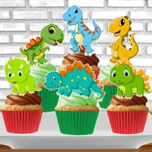 Dinosaurs Cupcake Topper (12pcs)