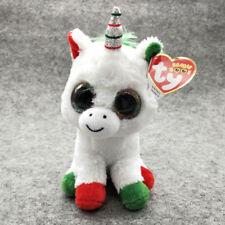 "CandyCane Ty Beanie Boos 6"" Stuffed Plush Kid Toy Soft Plush Doll Halloween Gift"