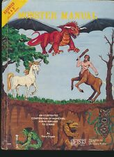 Advanced Dungeons & Dragons - Monster Manual (4th Edition) by Gary Gygax
