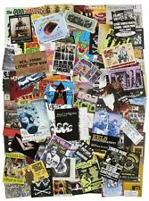 90s Rock Promotional Material and Show Handbills / 2000
