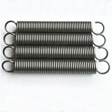 4pcs tension springs extension spring steel pulling elasticity 0.3mm WD 2mm OD