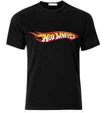 Hot Wheels Logo - Graphic Cotton T Shirt Short & Long Sleeve