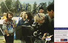 Rare Kate Winslet Peter Jackson & Melanie Lynskey Signed 8x10 PSA/DNA