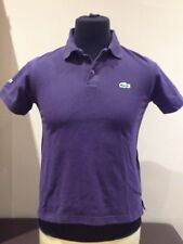 Lacoste Casual Polo Shirt , Purple  Adult Small (A418)