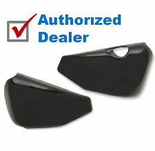 Black Side Oil Tank Battery Cover Covers Harley Sportster Nightster Iron 883 XL