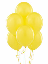 50 PACK 12'' LATEX YELLOW BALLOONS WEDDING BIRTHDAY ANNIVERSARY PARTY DECORATION