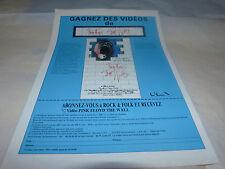 PINK FLOYD - Publicité de magazine / Advert !!! GAGNEZ DES VIDEOS !!!