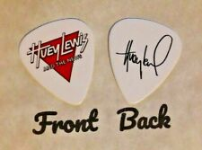 HUEY LEWIS & THE NEWS signature band logo guitar pick  -W