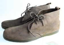 Vintage Men's Boots Shoes Weekends Leather Tie Up Mod Retro Ankle Hipster 9.5