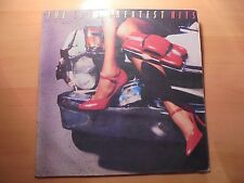 THE CARS Rare Colombia lp GREATEST HITS  12 tracks 1986 Different Cover / 17