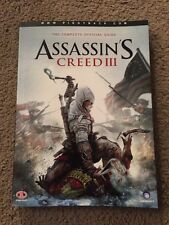 Assassins Creed 3 The Complete Official Guide Nice Condition