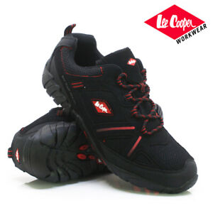 MENS LEE COOPER SAFETY WORK BOOTS STEEL TOE CAP ANKLE HIKING SHOES TRAINERS SIZE