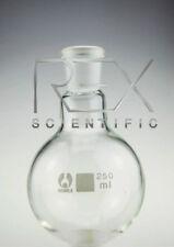 Fiole à fond arrondi 10ml verrerie de laboratoire 14/23 socket taille pack de 6
