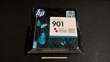 HP Hewlett Packard 901 TRICOLORE STAMPANTE CARTUCCIA INCHIOSTRO sigillato NUOVO FUORI GARANZIA