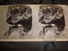 Stereoview photograph Naero Fjord Sogne Norway by Underwood 1894