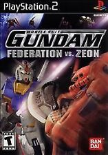 Mobile Suit Gundam: Federation vs. Zeon (Sony PlayStation 2, 2002)