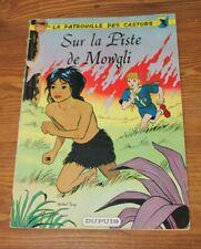 la patrouille des castors  / sur la piste de Mowgli / numéro 4 / Dupuis 1966