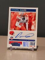 2019 Panini Contenders Denzel Ward NFL Ink Autograph Numbered 34/199