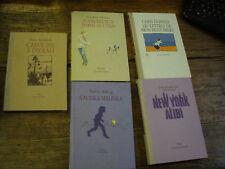 lot de 5 livres éditions l'école des loisirs