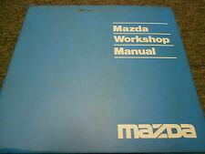 1992 Mazda 323 Protege Service Repair Shop Workshop Manual FACTORY OEM