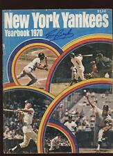 1970 New York Yearbook Curt Blefary Auto B & E Holo