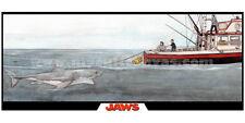 JAWS Art Print Poster Quint Hooper Brody DVD McFarlane Blu Ray Book Orca boat