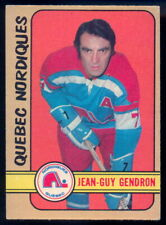 1972-73 OPC O PEE CHEE WHA #302 JEAN GUY GENDRON EX-NM QUEBEC NORDIQUES Card