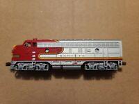 Bachmann N Scale F7 A Santa Fe Locomotive