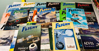 Lot of 23x Flight and Aircraft Engineer Rare 1940s-1960s Vintage Magazines!
