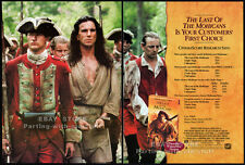 THE LAST OF THE MOHICANS__Original 1993 Trade print AD promo__DANIEL DAY-LEWIS