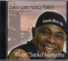 Salsa RARE CD Wilson Mayoma SAOKO Que no se acabe la rumba EL PRESO regaeton
