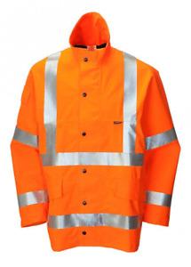 Hi Vis Orange Waterproof Goretex Jacket  RRP £200.00