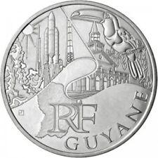 Guyane 2011 - 10 Euro des Régions en Argent
