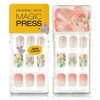 [DASHING DIVA] Magic Press Gel Nail Art Manicure 30 pcs IN THE FLOWER
