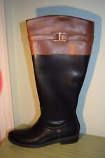 New Women's Size 6 Tommy Hilfiger Francel Tall Shaft Boots Black $120.99