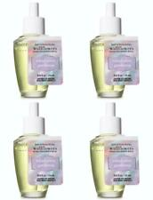 Bath & Body Works RAINFOREST GARDENIA Wallflower Fragrance Refill Bulbs x 4 Lot