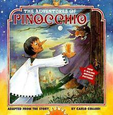 The Adventures of Pinocchio: (Reissue) (Picturebacks)-ExLibrary
