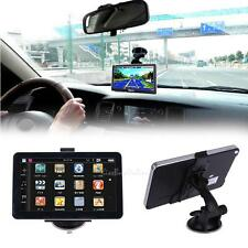 "7"" Truck Car Navigation GPS Navigator Charger Free European American Maps"