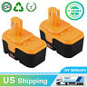 NEW 2Packs 3600mAh Replace for Ryobi 18V Battery ONE+ P100 P101 ABP1801 ABP1803