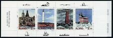 Aland Islands Scott #67a MNH BOOKLET COMPLETE Lighthouses CV$30+