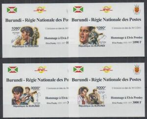 Z458. Burundi - MNH - Famous People - Elvis Presley - Deluxe - Imperf